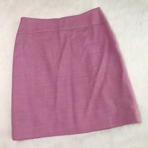 Ann Taylor Loft Lavender Skirt
